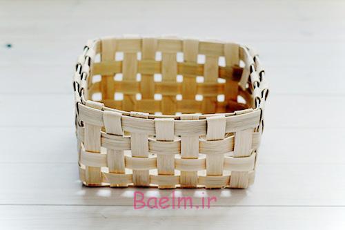 DIY Woven Baskets copy - آموزش تصویری بافت سبد حصیری