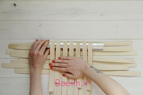 DIY Woven Baskets fold down sides - آموزش تصویری بافت سبد حصیری