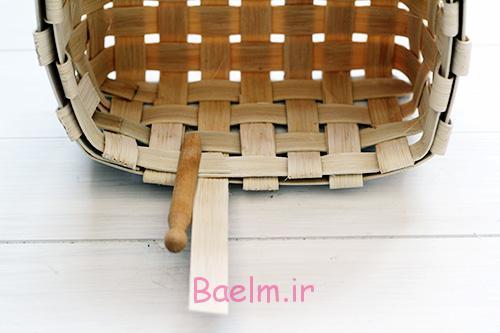 DIY Woven Baskets last strand - آموزش تصویری بافت سبد حصیری