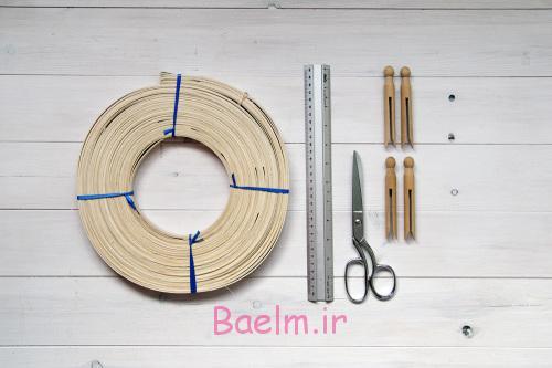 DIY Woven Baskets materials 500x333 - آموزش تصویری بافت سبد حصیری