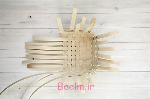 DIY Woven Baskets three sides copy - آموزش تصویری بافت سبد حصیری