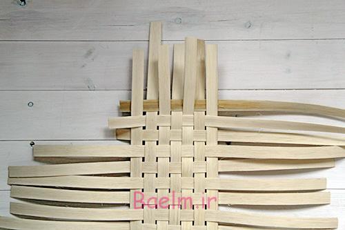 سبد DIY بافته شده سه رشته