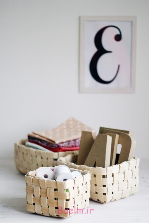 DIY Woven Baskets trio 500x750 - آموزش تصویری بافت سبد حصیری