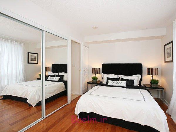Mirrored Closet Doors Will Make The Bedroom Look Bigger
