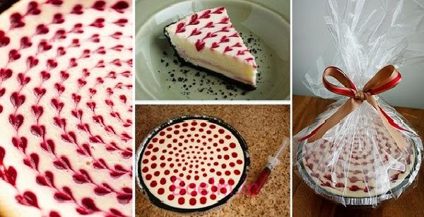 سفید-شکلات-تمشک-کیک پنیر