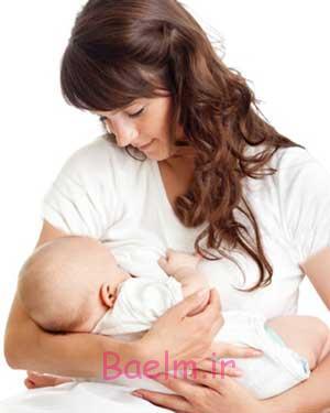رفع نفخ شیر مادر,نفخ شیر مادر,علت نفخ شیر مادر