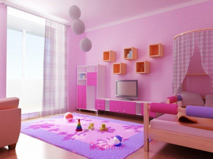عکسهای شیک از چیدمان رنگارنگ در اتاق خواب کودک (دخترانه و پسرانه) 2015