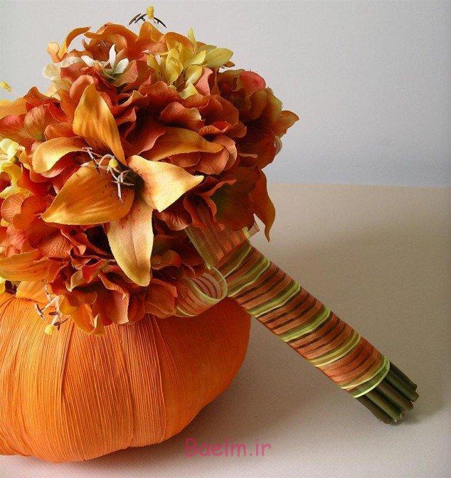 25 Autumn Inspired Wedding Flowers: عکس هایی از دسته گل پاییزی عروس (بسیار شیک
