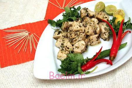 آموزش آشپزی   دستور پخت مرغ ذغالی (بسیار خوشمزه)