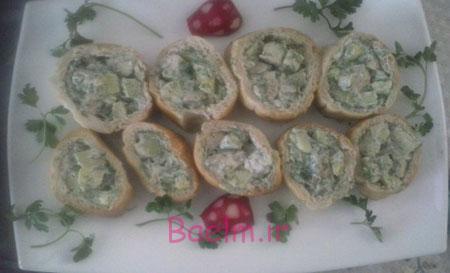 آموزش آشپزي   سالاد شوید غذایی خوشمزه و مناسب برای جشن تولد