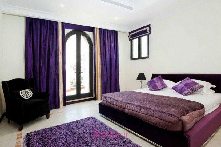 دکوراسیون | عکسهای شیک از فرش خز برای اتاق خواب 2015