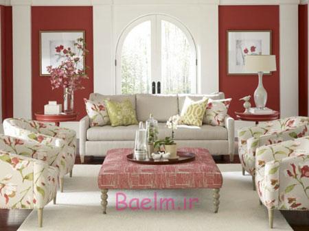 چیدمانی زیبا و شیک برای اتاق پذیرایی خود طراحی کنید