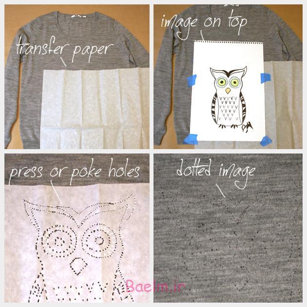 Owl Sweater DIY Transfer
