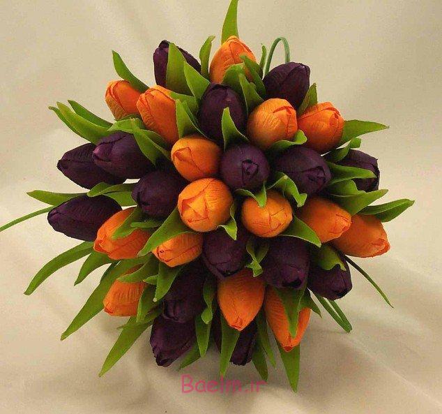 عکس های زیبا | عکس هایی از دسته گل پاییزی عروس (بسیار شیک)