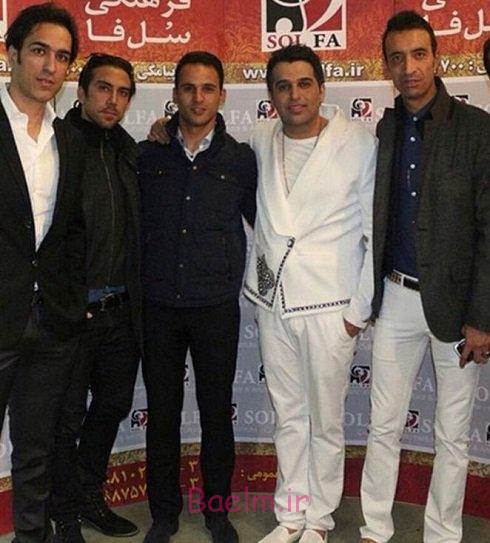 ورزشکاران | عکس زیبا از 2 بازیکن استقلال در کنسرت حمید عسگری