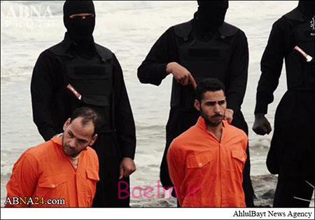 خبر +18 | داعش 21 قبطی مصری را ذبح کرد