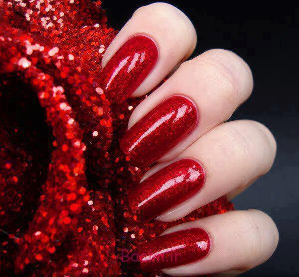 red 2 جدیدترین مانیکورهای قرمز 2014