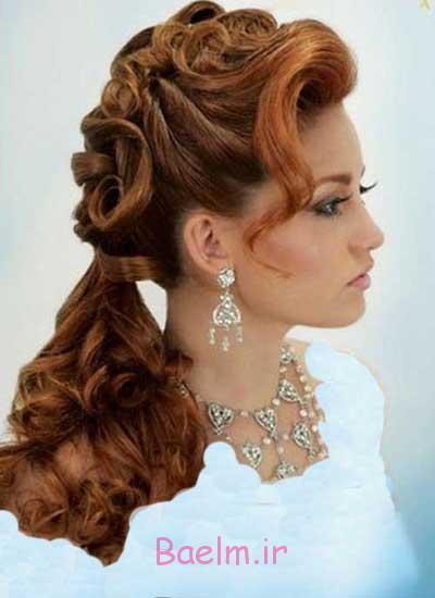 مد و آرايش | مدل هاي زيبا و شيك آرايش موي بلند