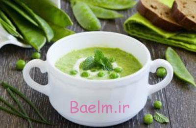 آموزش انواع سوپ | طرز تهیه سوپ نخود فرنگی با رزماری و سیر