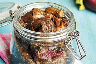 آموزش انواع ترشی | طرز تهیه ترشی بادمجان با تمبرهندی (جدید)