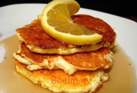 پنکیک لیمو و پنیر خامه ای,درست کردن پنکیک لیمو و پنیر خامه ای