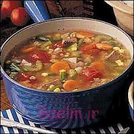 طرز تهیه سوپ گوشت و رشته