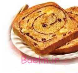 طرز تهیه نان برای صبحانه کودکان