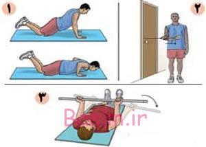 ورزش و سلامتی | با 3 حرکت آسیب دیدگی کتف را درمان کنید (تصویری)