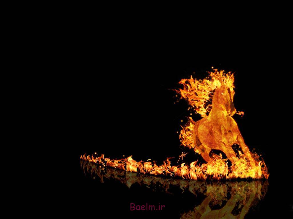 دیدن آتش سوزی در خواب | تعبیر خواب سوختن و دیدن آتش | آتش گرفتن در خواب