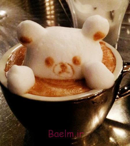 3D Latte Art by Kazuki Yamamoto
