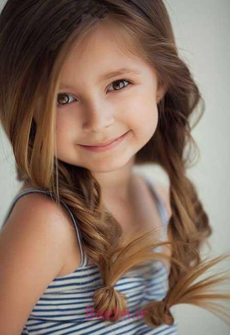 زیباترین مدل مو های دخترانه