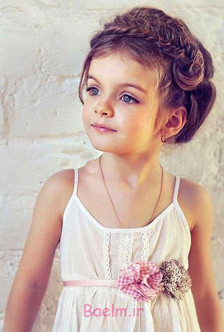 زيبايي   جديدترين مدل هاي موي دخترانه بچه گانه مخصوص مهماني ها