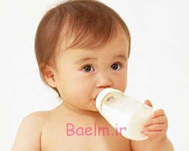 تغذیه نوزاد | بهترین زمان و روش برای از شیر گرفتن نوزاد