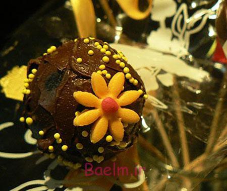 آشپزی فانتزی | طرز تهیه کیک های چوبی شکلاتی مخصوص عید نوروز