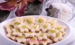آموزش انواع شیرینی | طرز تهیه شیرینی نارگیلی با آرد (مخصوص نوروز)