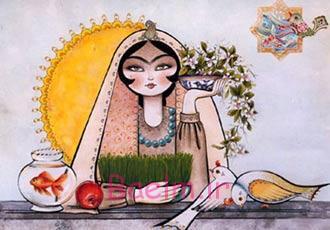 اس ام اس های زیبا برای تبریک عید نوروز | تبریک سال جدید | 1394