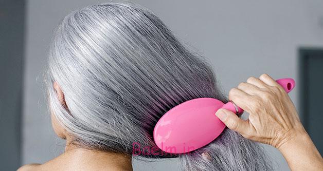 مدل موی خاکستری