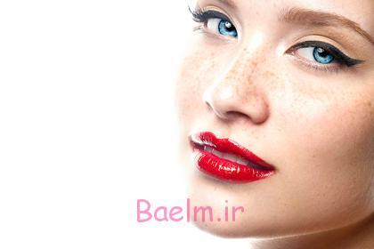 آرايش و زيبايي   توصيه هايي براي آرايش غليظ لب با رژ قرمز