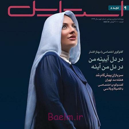 اخبار,اخبار فرهنگی,عکس بارداری مهناز افشار