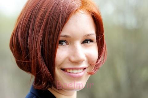 انتخاب فرق موها بر اساس شکل صورت