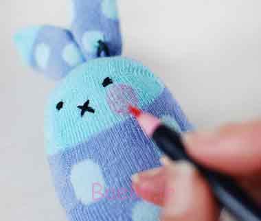 آموزش دوخت عروسک خرگوش با وسایل کهنه و جوراب