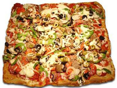 طرز تهیه پیتزا سیسیلی,درست کردن پیتزا سیسیلی