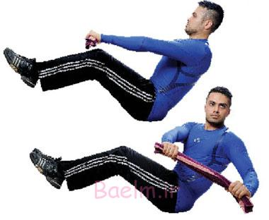 حرکات و تمرینات ورزشی برای سوزاندن چربی های شکم
