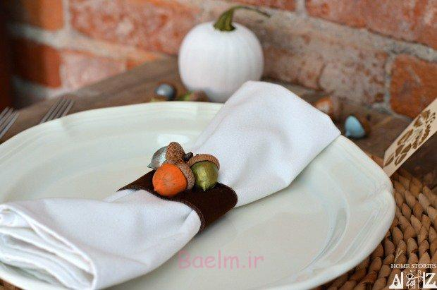 15 Quick And Easy DIY Thanksgiving Napkin Rings