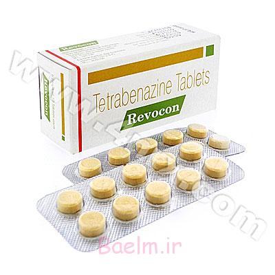 موارد مصرف و عوارض داروی تترابنازین (Tetrabenazine)