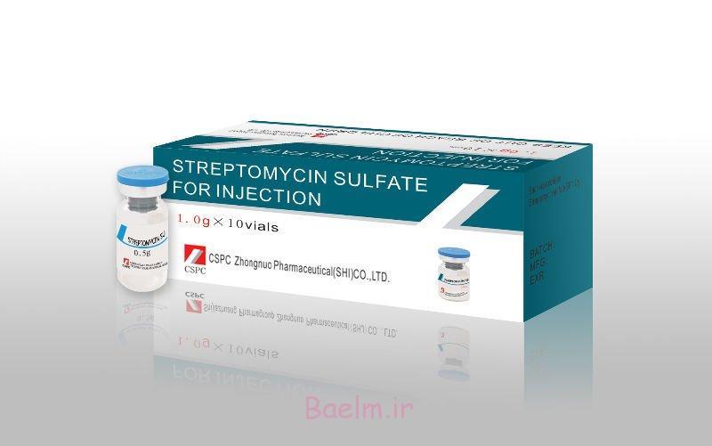 X  استرپتومایسین سولفات (Streptomycin Sulfate)