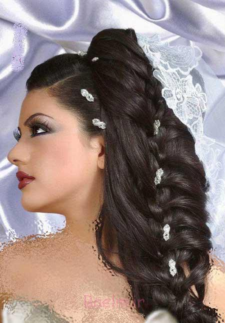 مدل آرایش صورت عروس,مدل آرایش صورت عروس 2015