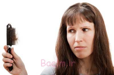 درمان ریزش مو باروش خانگی