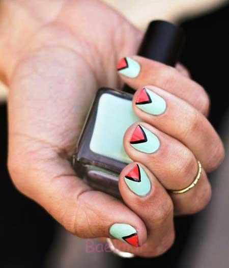 طراحی ناخن, طراحی ناخن جدید, طراحی ناخن ساده و شیک