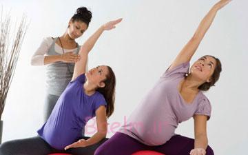 فواید ورزش کردن دردوران بارداری | ورزش و سلامت